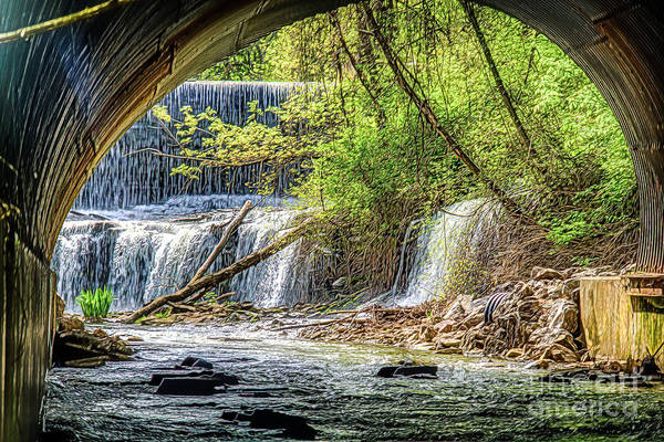 Photograph - Hidden Falls by Jim Lepard