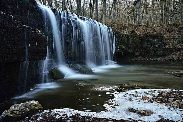 Photograph - Hidden Falls by Larry Ricker