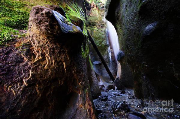 Wall Art - Photograph - Hidden Falls Sombrio Beach 3 by Bob Christopher