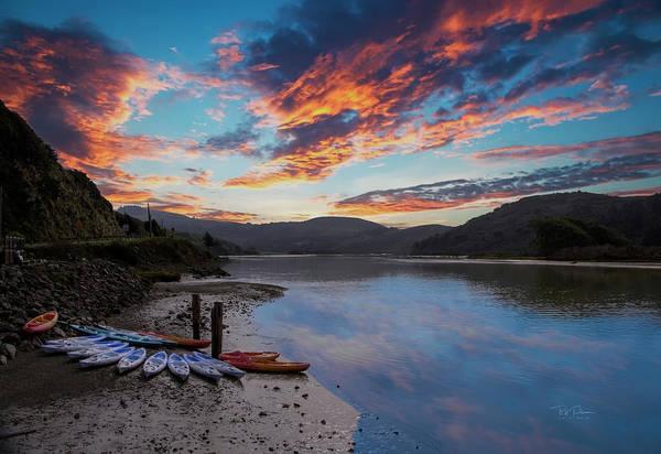 Photograph - Hidden Lake Sunset by Bill Posner