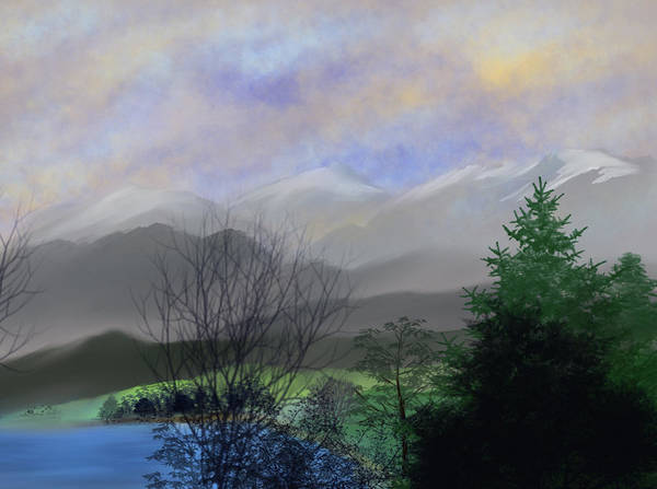 Painting - Hidden Pond by Dick Bourgault