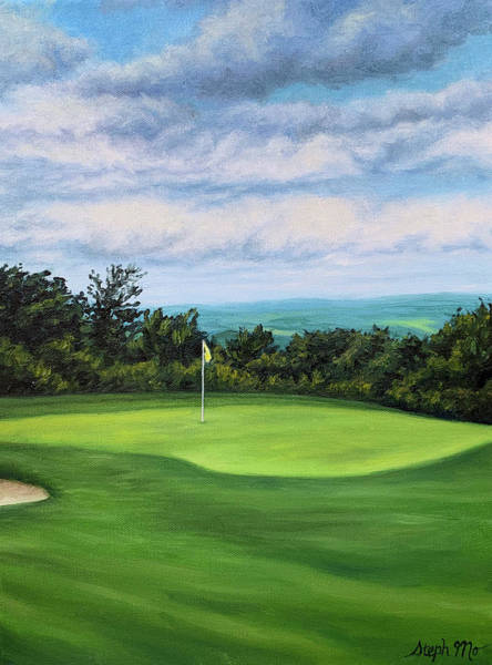Painting - Hidden Valley Resort Golf Course by Steph Moraca