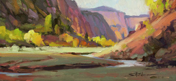 Wall Art - Painting - Hidden Valley by Steve Henderson