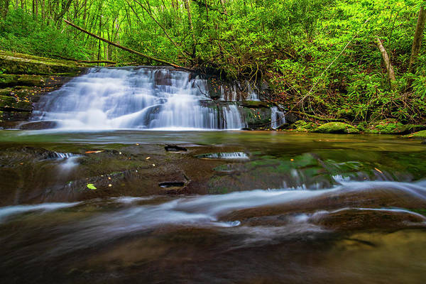 Photograph - Hidden Waterrfall by Andy Crawford