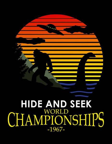 Wall Art - Digital Art - Hide And Seek World Championshios 1967 by Filip Hellman