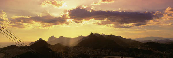 Wall Art - Photograph - High Angle View From Sugarloaf by Panoramic Images