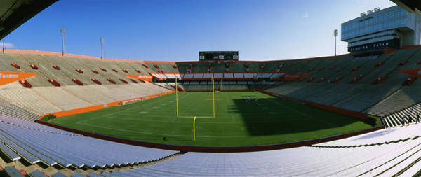 Gainesville Photograph - High Angle View Of Players by Panoramic Images