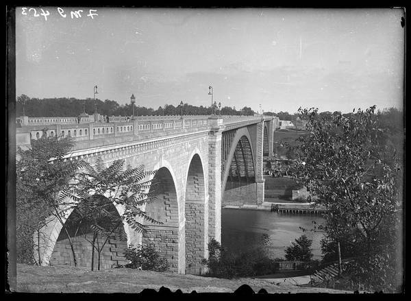 The Bronx Photograph - High Bridge Connecting Manhattan And by The New York Historical Society
