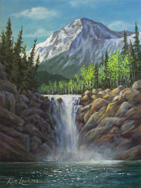 Painting - High Country Bliss by Kim Lockman
