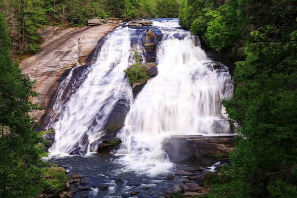 Photograph - High Falls North Carolina by Carol Montoya