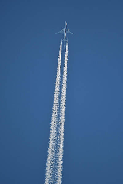 Photograph - High Flight -- Emirates Air Boeing 777 by William Jobes