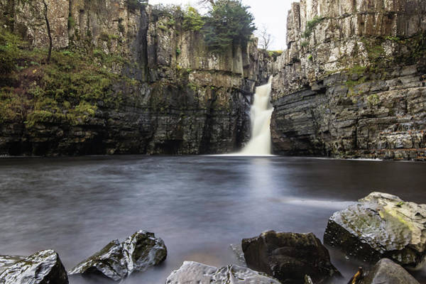Wall Art - Photograph - High Force Waterfall. by Angela Aird