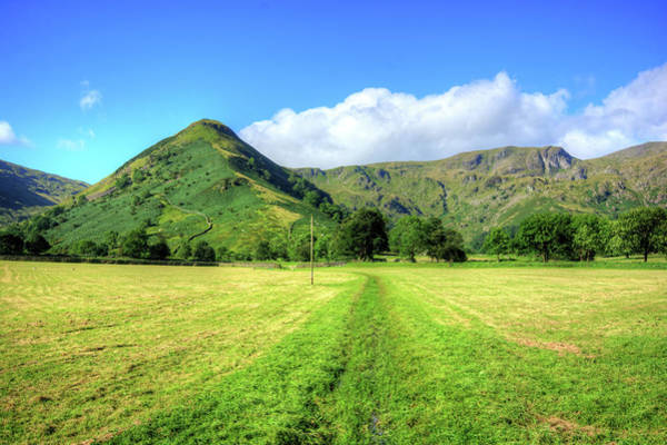 Mixed Media - High Hartsop Dodd by Smart Aviation