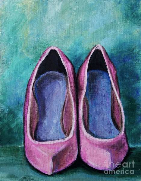 Painting - High Heel Shoes by Jacqueline Athmann