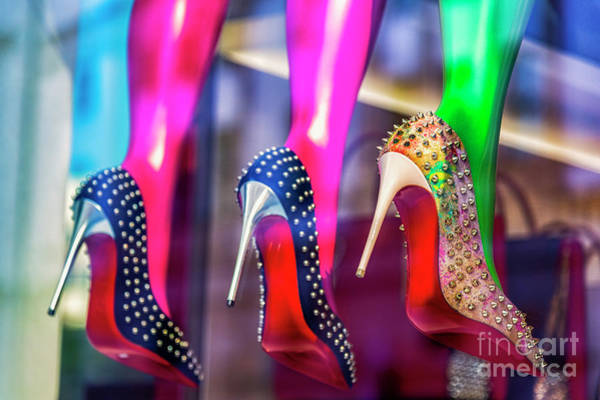 Wall Art - Photograph - High Heels In Window Display by Westend61
