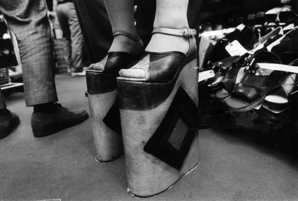 Shoe Photograph - High-high Heels by Keystone
