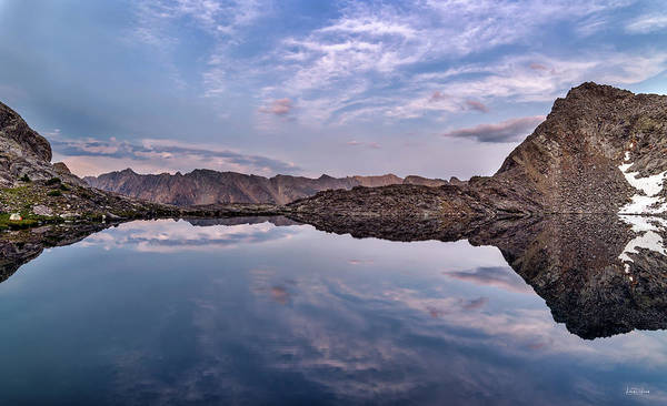 Photograph - High Mountain Calm And Quiet by Leland D Howard