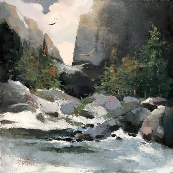 Painting - High Ridge Pass by Helen Harris