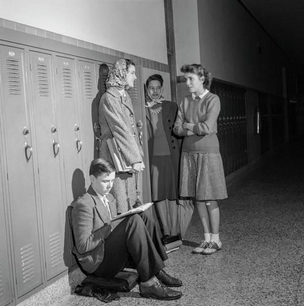 Wall Art - Photograph - High School Life 1943 by Daniel Hagerman