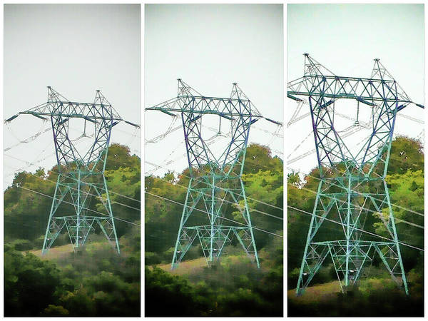 High-voltage Power Transmission Towers 1 Art Print