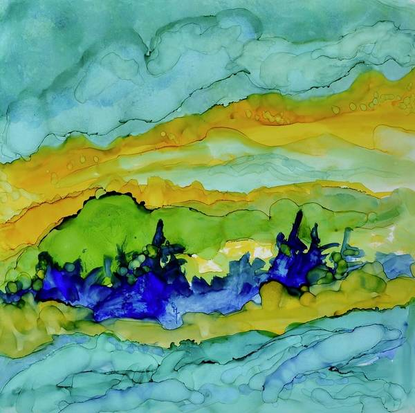 Wall Art - Painting - High Water by Beverley Harper Tinsley