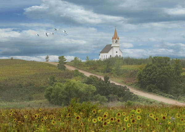 Photograph - Higher Ground Church - Chapel On The Hill by Patti Deters