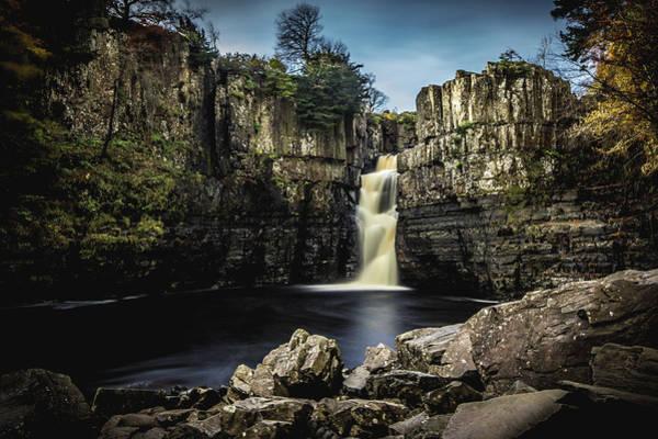 Wall Art - Photograph - Highforce Waterfall. by Angela Aird