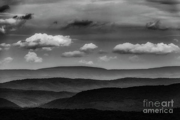 Photograph - Highland Clouds And Ridges  by Thomas R Fletcher
