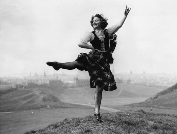 Northern Scotland Wall Art - Photograph - Highland Dancing by Malcolm Stroud