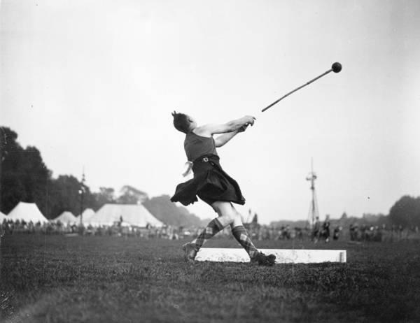 Determination Photograph - Highland Games by Hudson