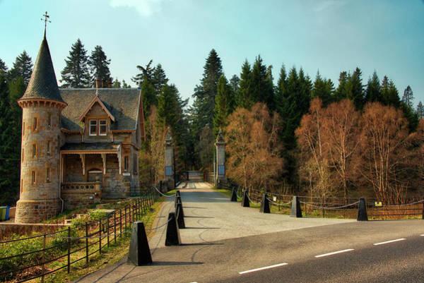 Wall Art - Photograph - Highland Gate Lodge - Scotland by Bill Cannon