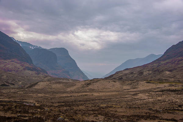 Photograph - Highland Landscape - Glen Coe Scotland by Bill Cannon
