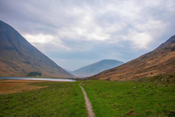Wall Art - Photograph - Highland Path - Scotland by Bill Cannon