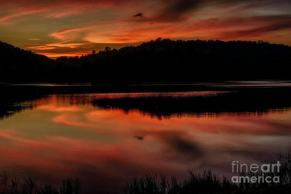 Photograph - Highland Sunset Afterglow  by Thomas R Fletcher