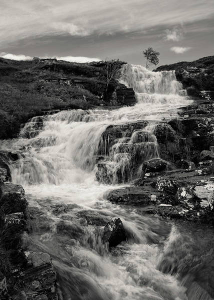 Wall Art - Photograph - Highland Waterfall by Dave Bowman