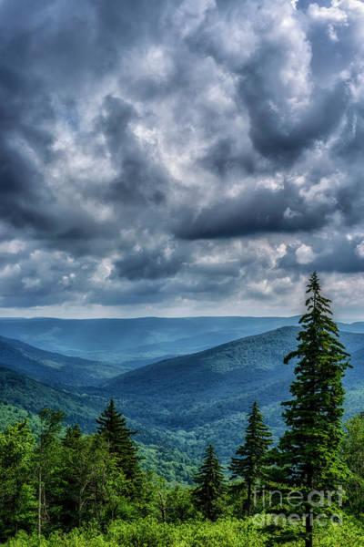 Photograph - Highlands Summer Storm Clouds by Thomas R Fletcher