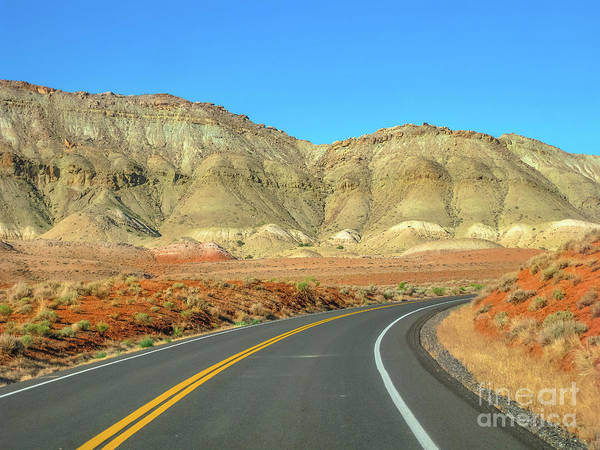 Wall Art - Photograph - Highway In Bighorn Canyon by Benny Marty