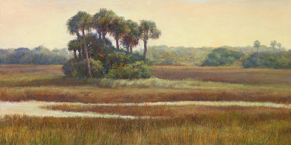 Lake Okeechobee Wall Art - Painting - Highway Marco by Laurie Snow Hein
