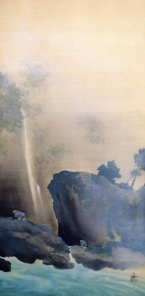 Wall Art - Painting - Hikifune - Top Quality Image Edition by Yokoyama Taikan