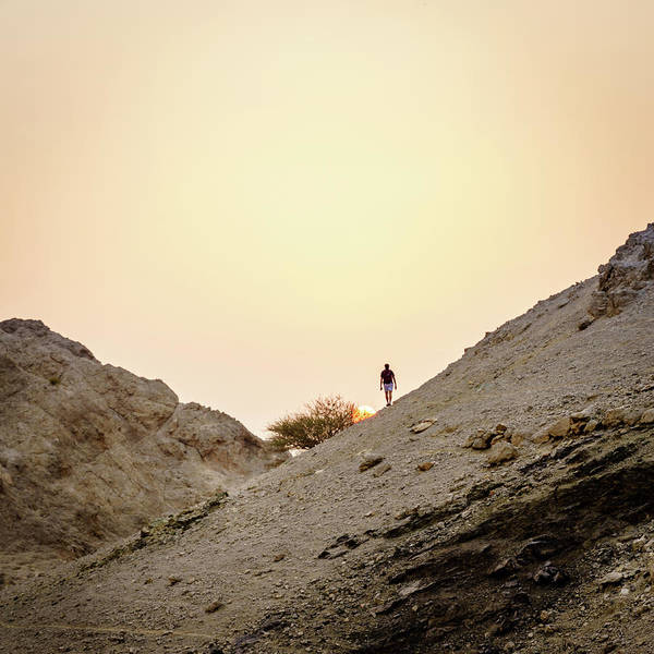 Wall Art - Photograph - Hiking In Hajar Mountains In Uae by Alexey Stiop