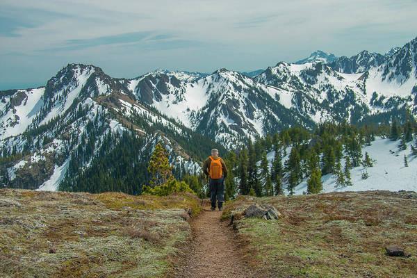 Photograph - Hiking Toward Heaven by Doug Scrima