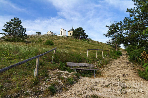 Photograph - Hiking Trail To Mikulov Calvary by Les Palenik