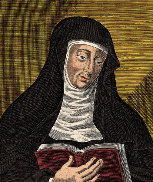 Photograph - Hildegard Of Bingen, German Polymath by Science Source