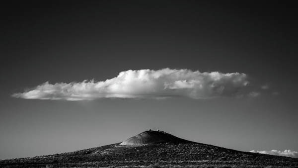 Petrified Forest Photograph - Hill And Cloud by Joseph Smith