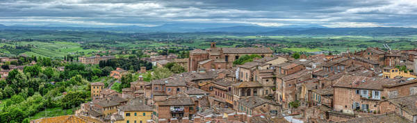 Photograph - Hill Town Siena by David Letts