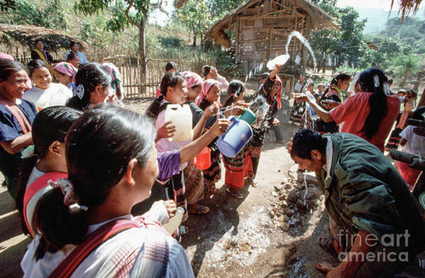 Photograph - Hill Tribe New Year by Kim Lessel