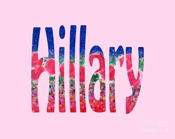 Digital Art - Hillary by Corinne Carroll
