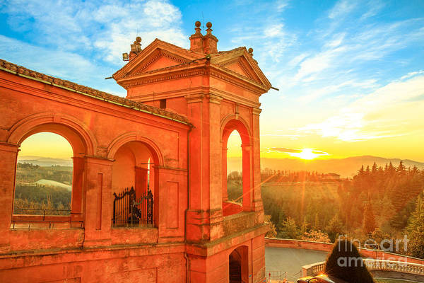 Photograph - Hills Of San Luca by Benny Marty