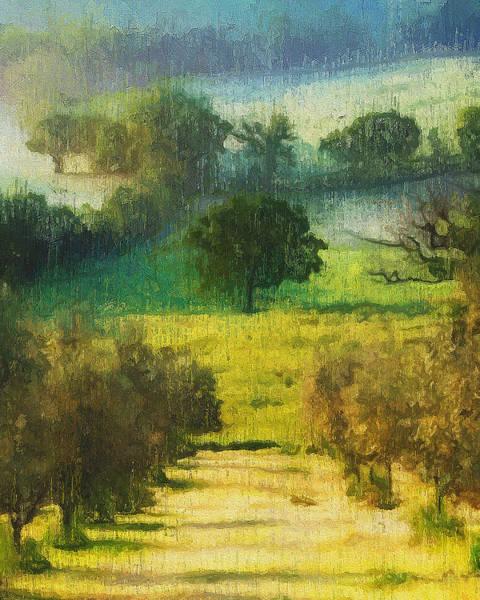Painting - Hills Of Tuscany - 30 by Andrea Mazzocchetti