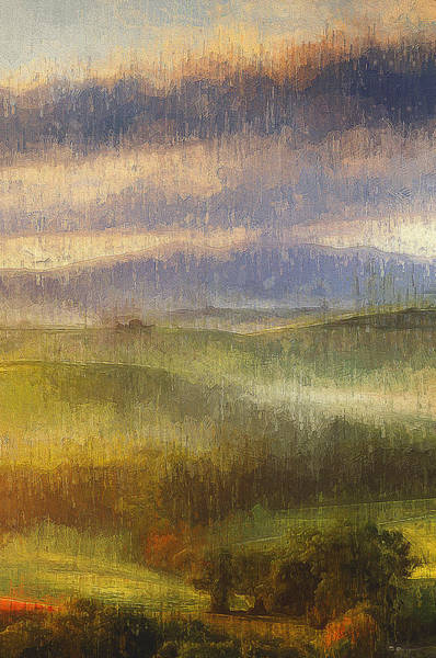 Painting - Hills Of Tuscany - 31 by Andrea Mazzocchetti